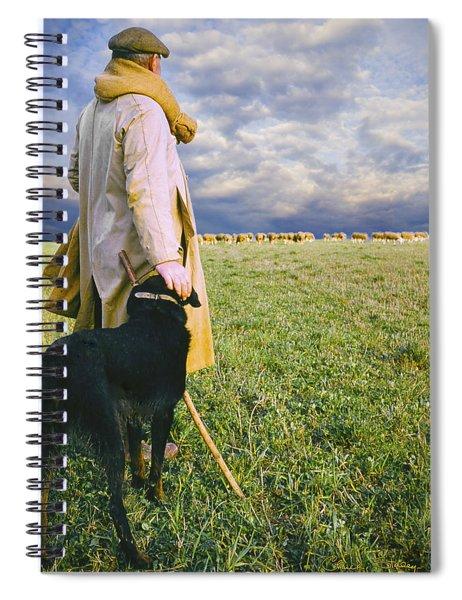 French Shepherd Spiral Notebook