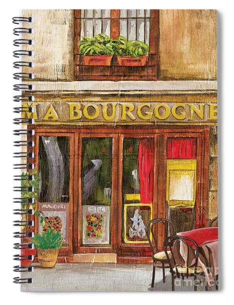French Storefront 1 Spiral Notebook