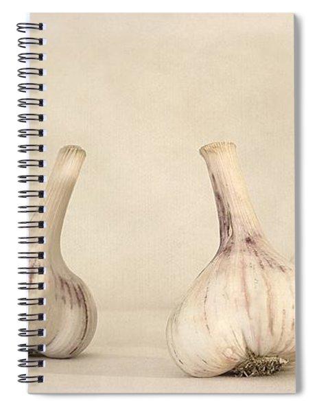 Fresh Garlic Spiral Notebook