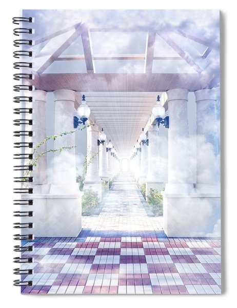 Gateway To Heaven Spiral Notebook