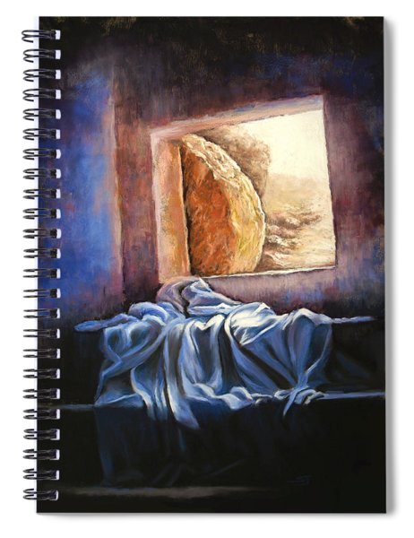 He Is Risen Spiral Notebook