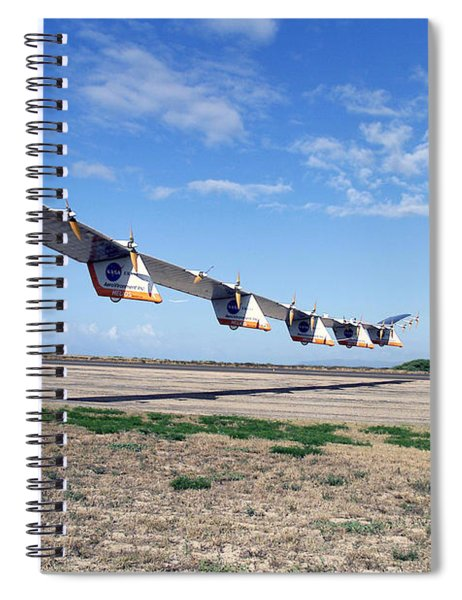 Helios Prototype, Solar-electric Spiral Notebook