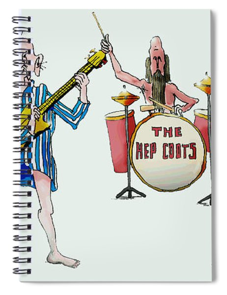 Sixties And Seventies Musicians Spiral Notebook