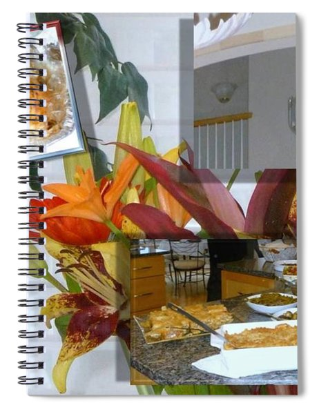 Holiday Collage Spiral Notebook