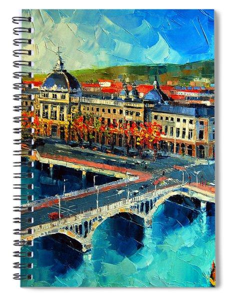 Hotel Dieu De Lyon Spiral Notebook