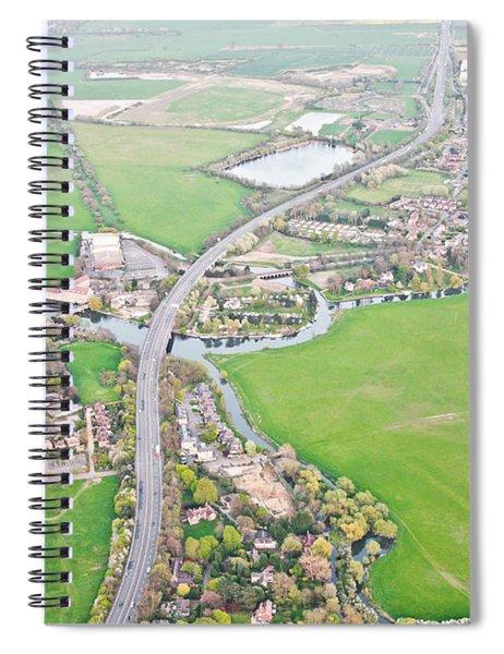 Huntingdon  Spiral Notebook