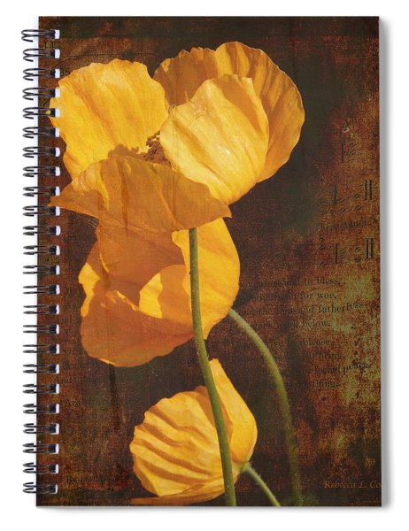 Icelandic Poppy Spiral Notebook