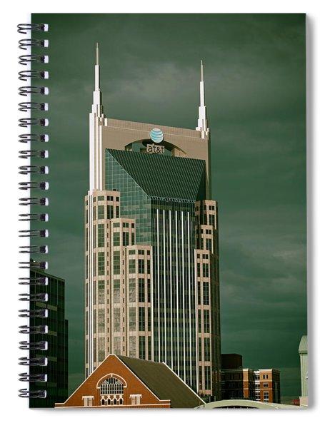 Icons Of Nashville Spiral Notebook