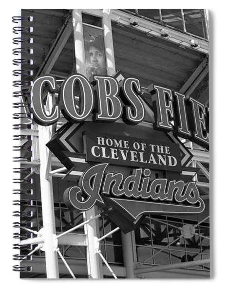 Jacobs Field - Cleveland Indians Spiral Notebook