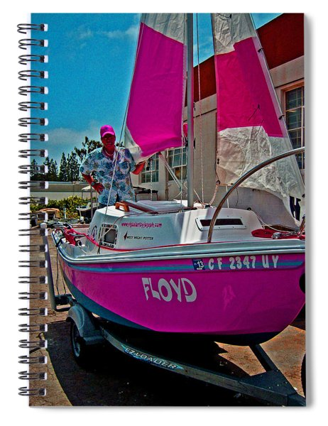Joe And Floyd Spiral Notebook