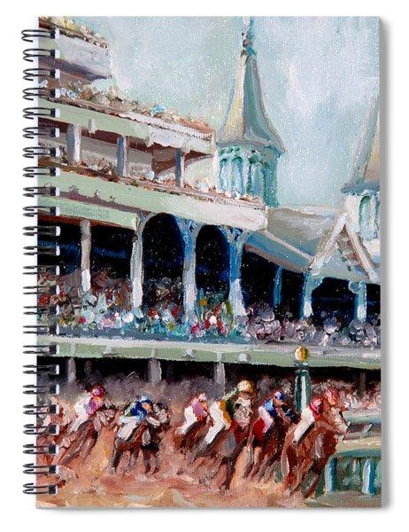Kentucky Derby Spiral Notebook