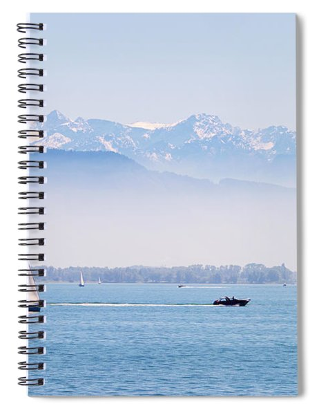 Lake Of Constance Spiral Notebook