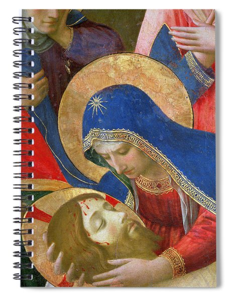 Lamentation Over The Dead Christ Spiral Notebook