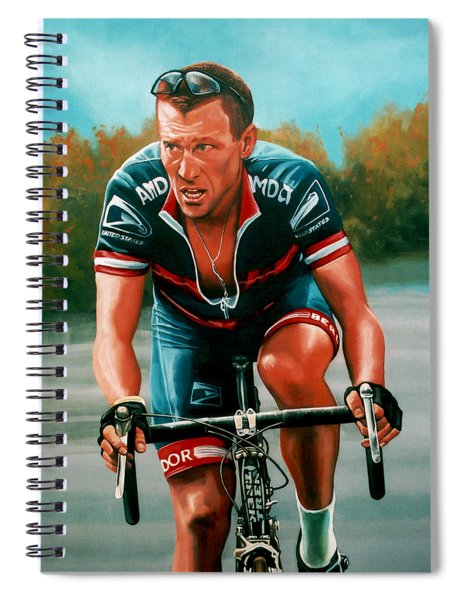 Lance Armstrong Spiral Notebook