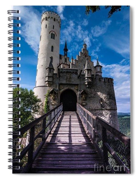Lichtenstein Castle - Baden-wurttemberg - Germany Spiral Notebook