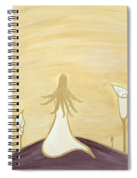 Lilies Of The Field Spiral Notebook