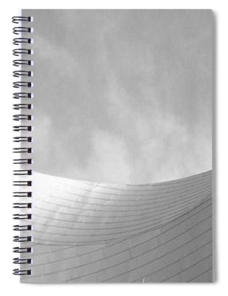 Low Angle View Of A Building Spiral Notebook