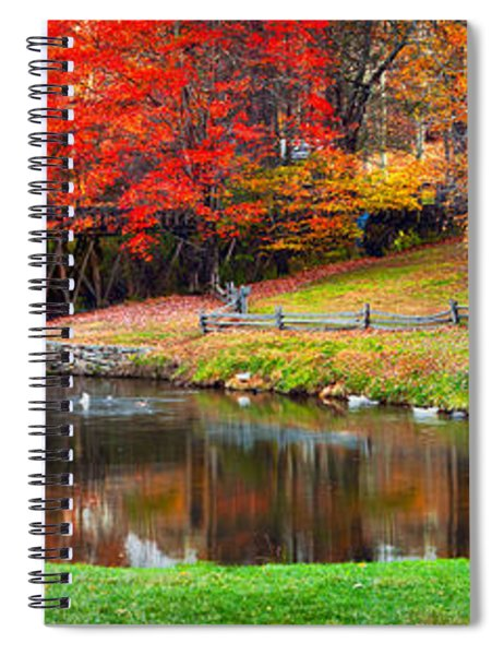 Mabry Mill Pano Spiral Notebook