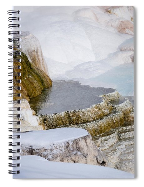 Mammoth Terraces Spiral Notebook
