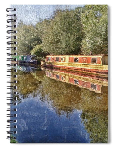 Moored Up Spiral Notebook