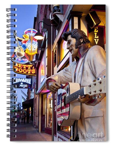 Music City Usa Spiral Notebook