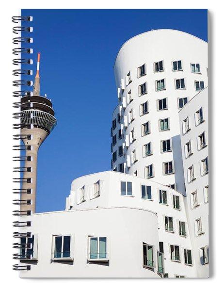 Neuer Zollhof Buildings Designed Spiral Notebook