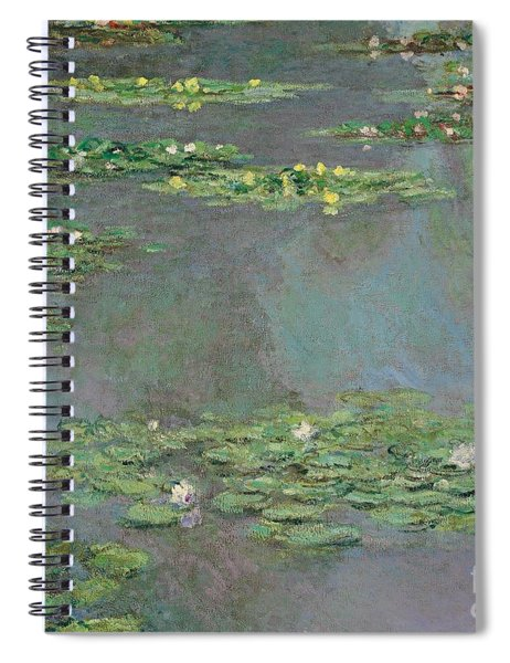 Nympheas Spiral Notebook