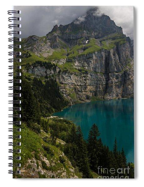 Oeschinensee - Swiss Alps - Switzerland Spiral Notebook
