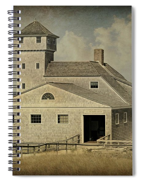 Old Harbor Lifesaving Station -- Cape Cod Spiral Notebook