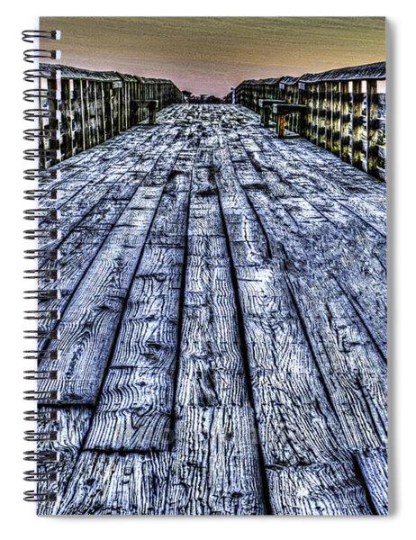 Old Pitt St Bridge Spiral Notebook