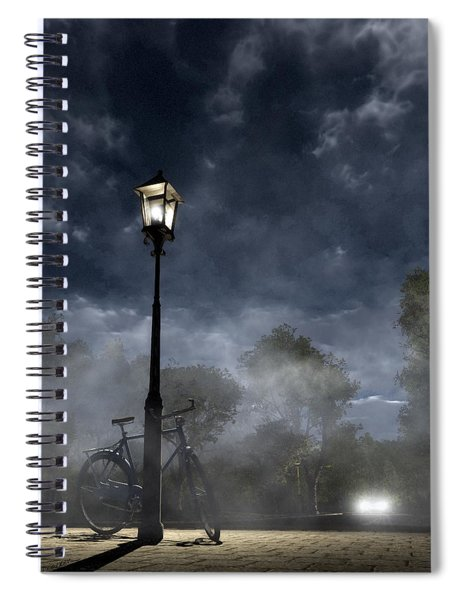 Ominous Avenue Spiral Notebook