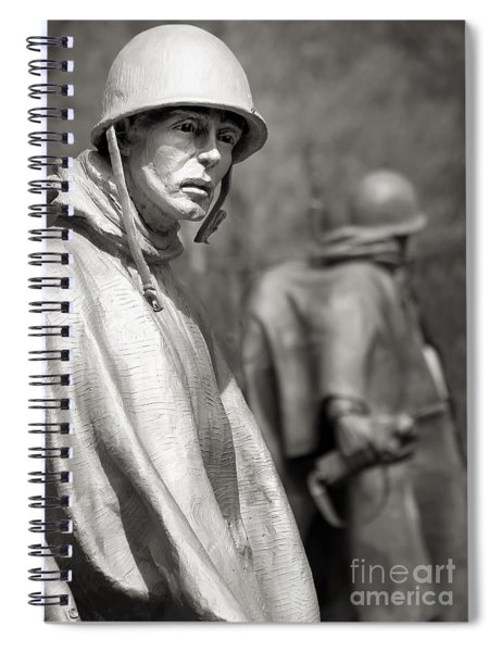 In Our Nation's Service Spiral Notebook