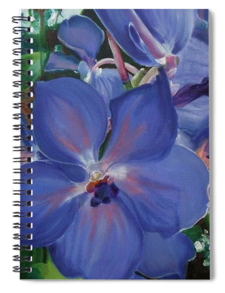 Orchids Spiral Notebook
