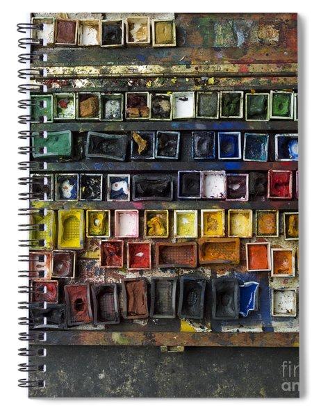 Paint Box Spiral Notebook