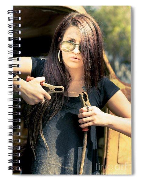 Power Boost Spiral Notebook