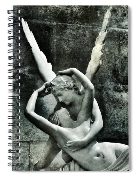 Psyche Revived By Cupid's Kiss Spiral Notebook