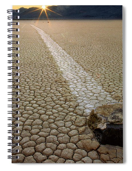 Racing Rock Spiral Notebook