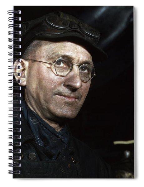 Railway Workers, 1942 Spiral Notebook