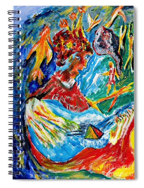 Refuge Spiral Notebook