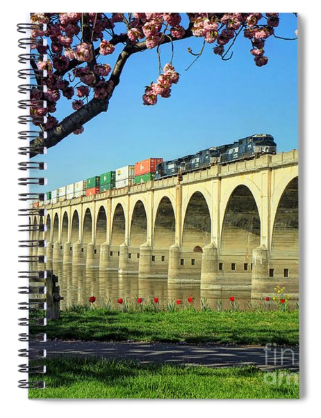 River Crossing Spiral Notebook