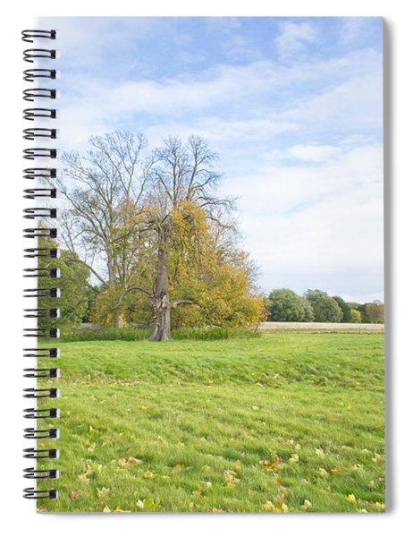 Rural Scene Spiral Notebook
