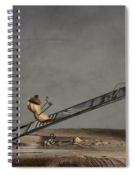 Simple Things - Sliding Down Spiral Notebook