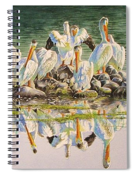 Standing Room Only Spiral Notebook