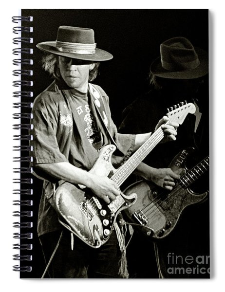 Stevie Ray Vaughan 1984 Spiral Notebook