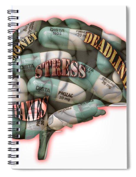 Stress Spiral Notebook