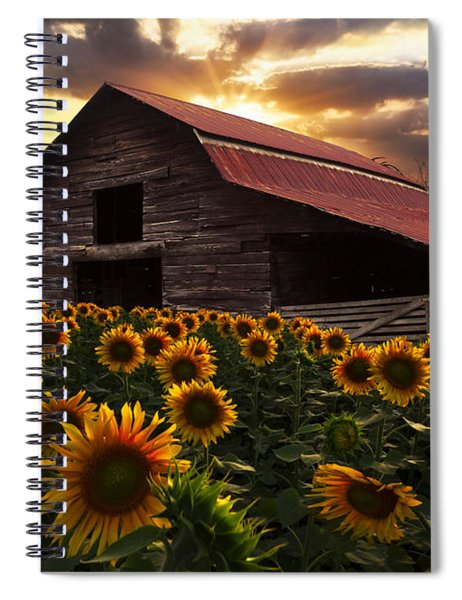 Sunflower Farm Spiral Notebook