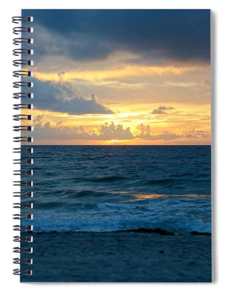 Sunrise In Deerfield Beach Spiral Notebook
