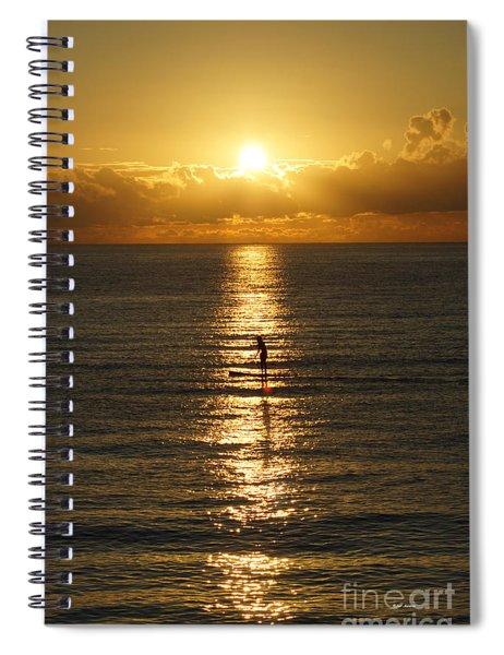 Sunrise In Florida Riviera Spiral Notebook