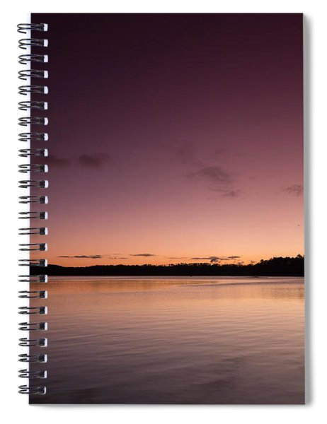 Sunrise On Lake Lanier Spiral Notebook