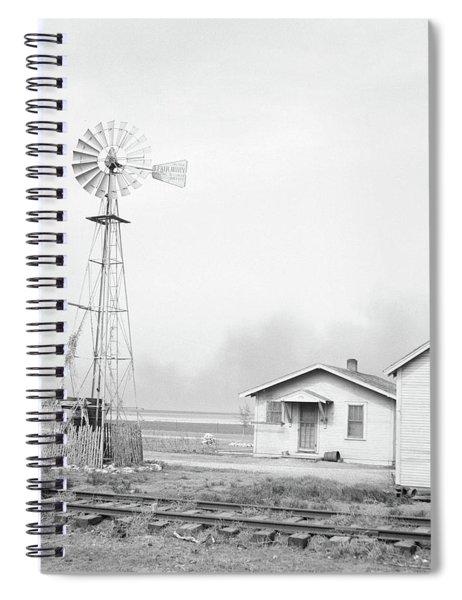 Texas Dust Storm, 1936 Spiral Notebook